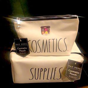 Rae Dunn Cosmetic Bags - new